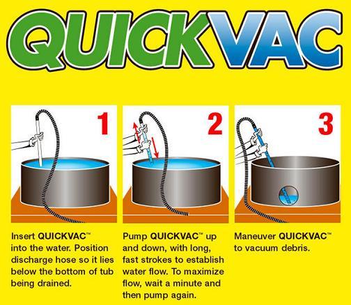 QUICKVAC hot tub vaccum